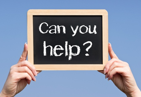 Can you help