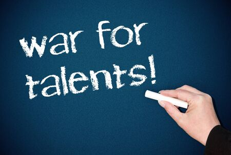 war for talents Stock Photo - 18787910