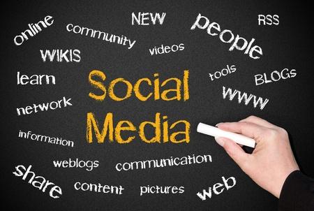 Social Media Concept Stock Photo - 18787909