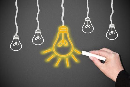 marketingplan: Big Idea - Concept Stock Photo