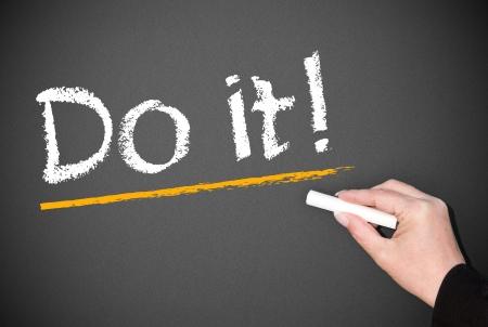 entrepeneur: Do it