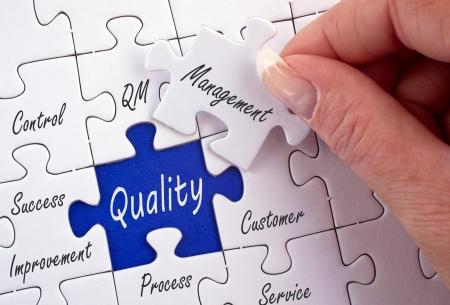 Qualitätsmanagement Standard-Bild