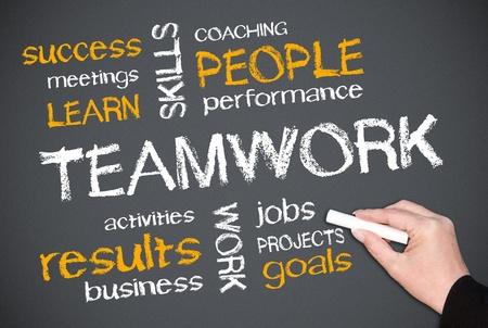 talent management: Teamwork