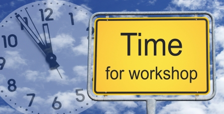 time change: Time for workshop
