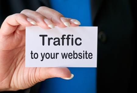 Traffic to your website Stock Photo - 19374794