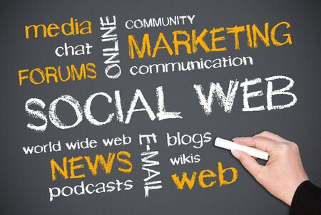 Social Web Stock Photo - 19379295