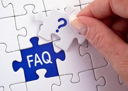 FAQ Stock Photo - 19698496