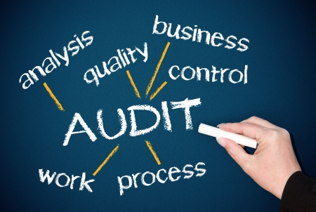 AUDIT - Business Concept Stock Photo - 19698564