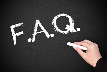 FAQ Stock Photo - 19698558
