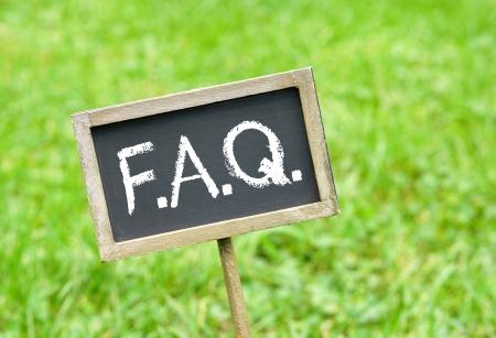FAQ - Najczęściej zadawane pytania Zdjęcie Seryjne