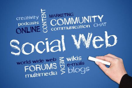 Social Web Stock Photo - 19698743