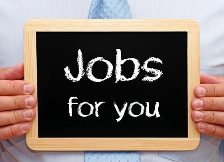 Jobs für Sie Standard-Bild - 20365505