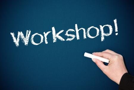 Workshop Chalkboard photo