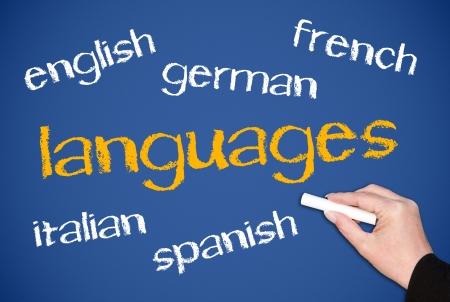 idiomas: Idiomas Foto de archivo
