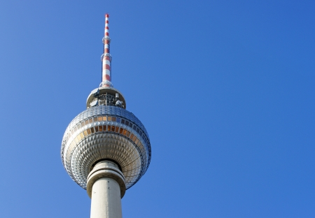 radio activity: Television Tower - Alexanderplatz Berlin - Germany