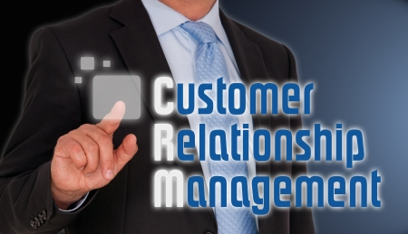 login button: CRM - Customer Relationship Management