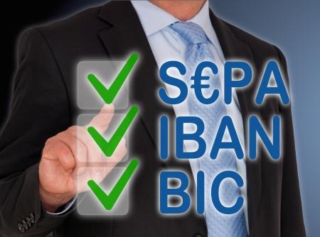 bank transfer: SEPA - IBAN - BIC