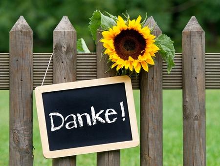 Thank you - Danke Stock Photo - 20948592