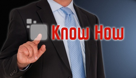 know how: Know How Stock Photo