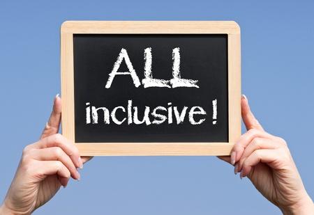 inclusive: ALL inclusive