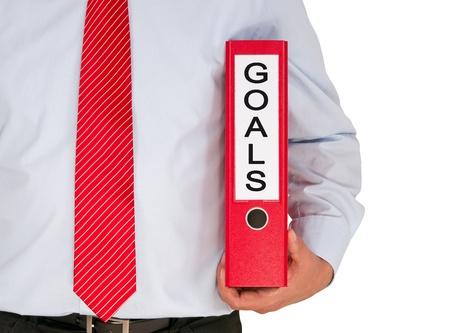 Business Goals Reklamní fotografie