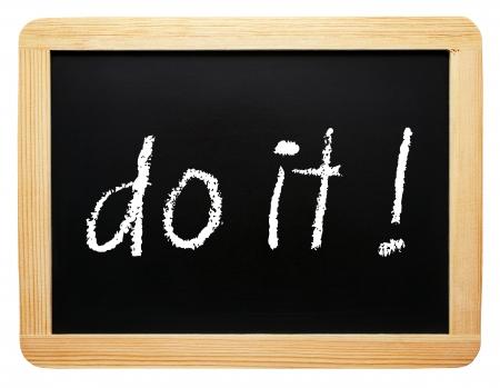 insist: do it