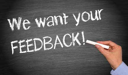 We want your feedback   photo