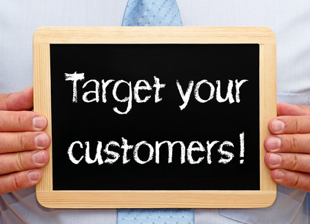 Target your customers Stock Photo - 22285485