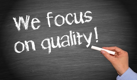 quality assurance: We focus on quality