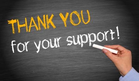 amabilidad: Gracias por su apoyo