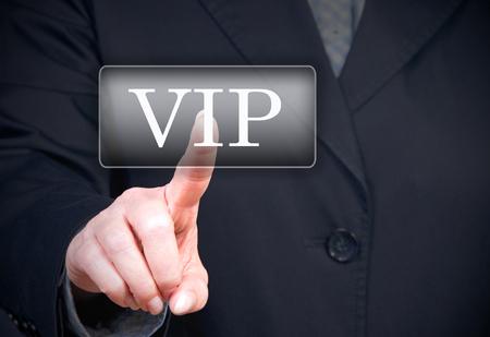 high society: VIP Button