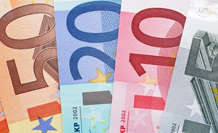 Euro Bank Notes Stock Photo - 22645756