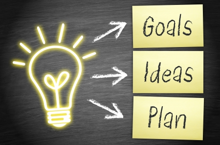 Goals - Ideas - Plan Stock Photo - 22645771