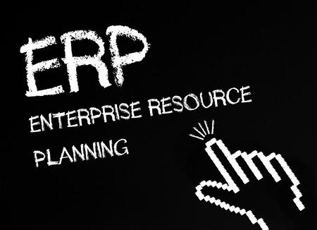 ERP - Enterprise Resource Planning Stock Photo - 22645799