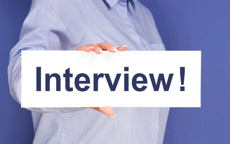 headhunter: Interview Stock Photo