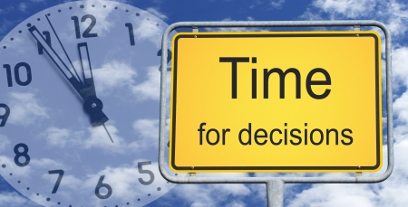 Time for decisions Stock Photo - 22645850