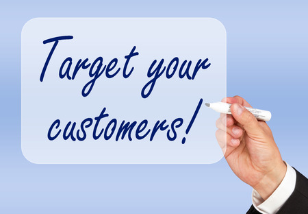 Target your customers Stock Photo - 22645886