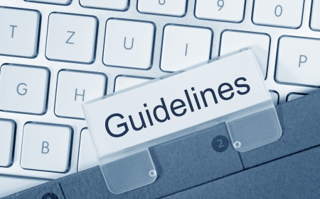 Guidelines Stock Photo - 22645910