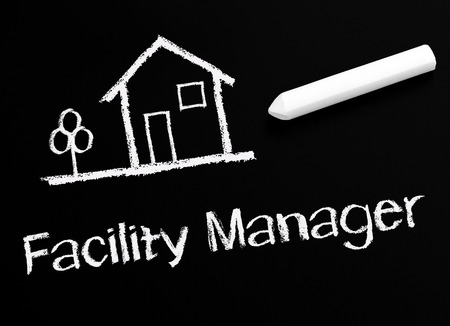 dwell: Facility Manager Stock Photo