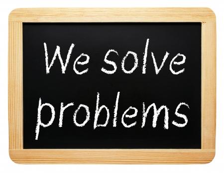 問題を解決します。