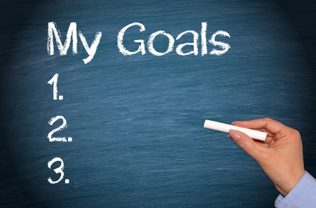 My Goals Stock Photo - 22836403