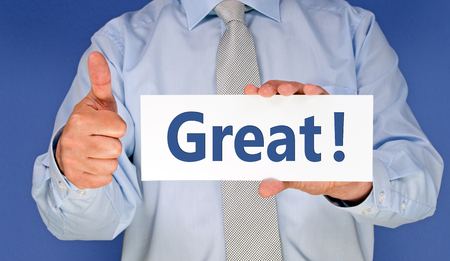 first job: Great