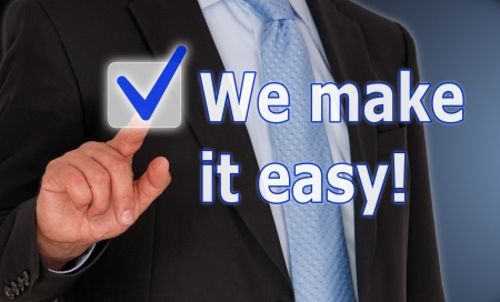 easy: We make it easy