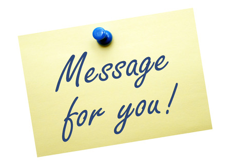 Message for you   Stock Photo - 22836433