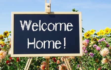 welcome home: Welcome Home