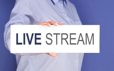 live stream: Live Stream