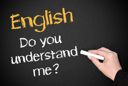 English - Do you understand me photo