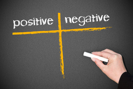 positive and negative photo