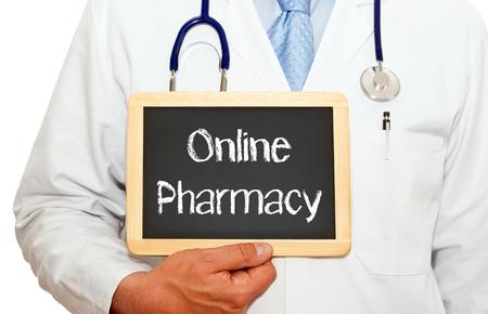 Online Pharmacy Stock Photo - 22836775