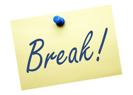 Break   Stock Photo